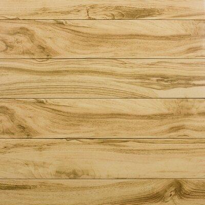 Artisan Wood 6 x 31 Ceramic Wood Look Tile in Tan (Set of 10)