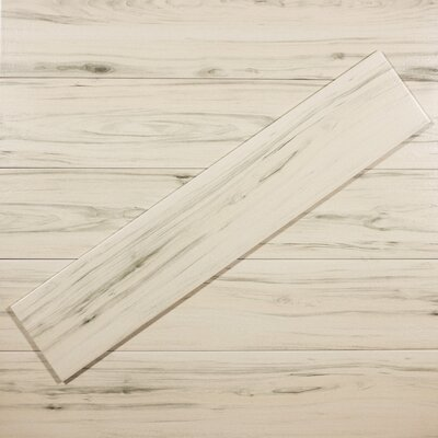 Artisan Wood 8 x 40 Ceramic Wood Look Tile in Gray