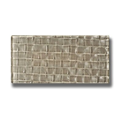 "Metro 3"" X 6"" Glass Subway Tile In Olive"
