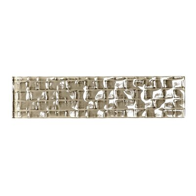 Metro 2 x 8 Glass Subway Tile in Olive