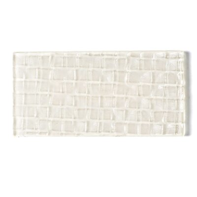 Metro 3 x 6 Glass Subway Tile in Cream