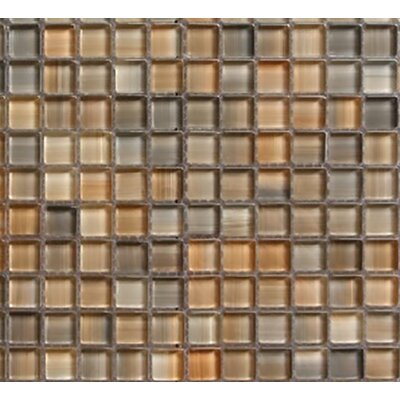 Handicraft II 0.75 x 0.75 Glass Mosaic Tile in Glazed Desert
