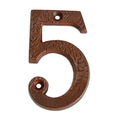 Iron Aged Numeral Number: 5
