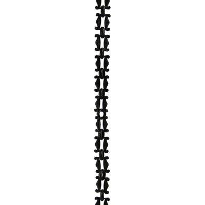 Motif Un-Welded Link Solid Brass Chain Finish: Oil Bronze Black