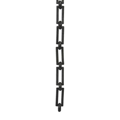 Rectangle Un-Welded Link Solid Brass Chain Finish: Oil Bronze Black