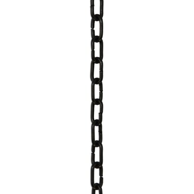 Standard Un-Welded Chain Break Finish: Oil Bronze Black, Size: 12 H x 1.85 W x 0.2 D