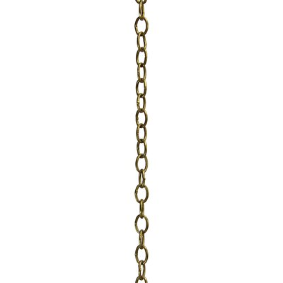 Welded Chain Finish: Antique Brass