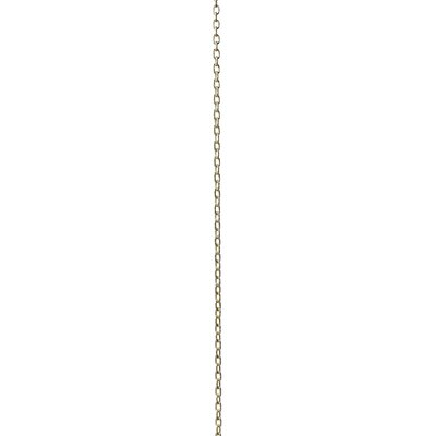 Micro Standard Link Lighting Fixture Chain Break Finish: Polished Brass, Size: 1.02 H x 0.62 W x 0.11 D