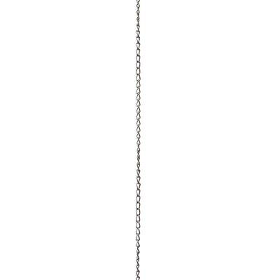 Twist Link Lighting Fixture Chain Finish: Polished Nickel