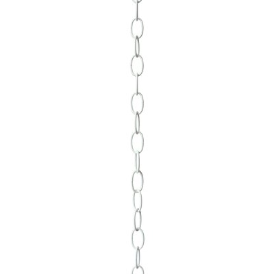 Micro Standard Link Lighting Fixture Chain Break Finish: White, Size: 1.49 H x 0.86 W x 0.12 D