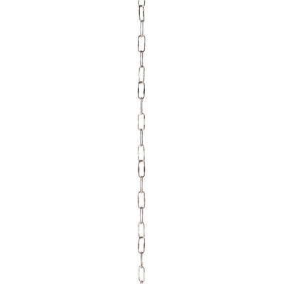 Spanish Link Lighting Fixture Chain Break Finish: Polished Nickel, Size: 2.05 H x 0.91 W x 0.88 D