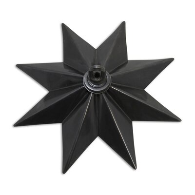 Star Shaped Ceiling Medallion Finish: Oil Bronzed Black