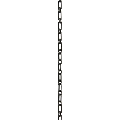 Rectangle Welded Link Chain Finish: Oil Bronzed Black