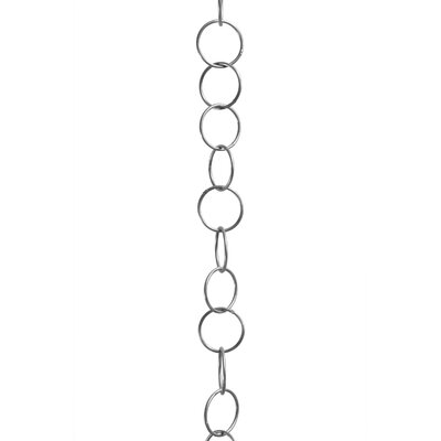 Round Wire Decorative Fixture Chain Finish: Polished Nickel