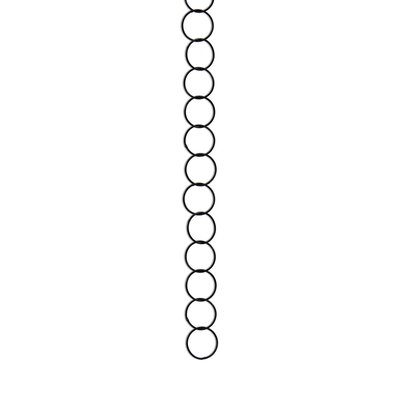 Round Wire Decorative Fixture Chain Finish: Oil Bronzed Black