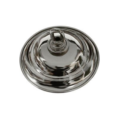 Round Ceiling Medallion Canopy Finish: Polished Nickel