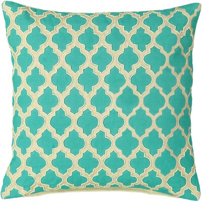 Belfin Mosaic Tile Beads Embroidery 100% Cotton Throw Pillow