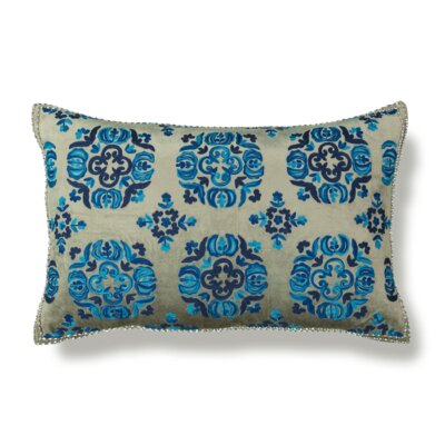 Safavieh Moroccan Embroidery Linen Lumbar Pillow