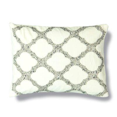 Moroccan Bead Cotton Lumbar Pillow