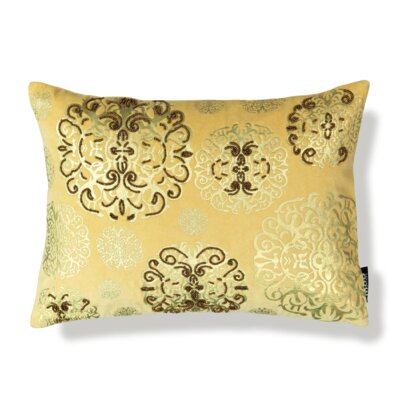 Medallion Cotton Lumbar Pillow