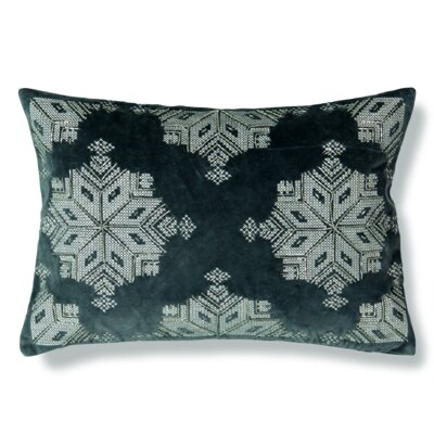Beads Snowflakes Lumbar Pillow