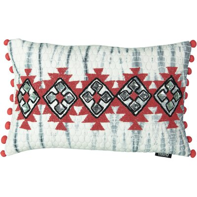 Salguero Apache Earth Beads 100% Cotton Lumbar Pillow