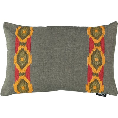 Belafonte Tribe Beads 100% Cotton Lumbar Pillow
