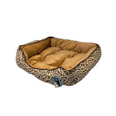 Leopard Print Pet Bed