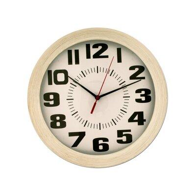 Wood Grain Finish Round Wall Clock SYPL2618 39472727