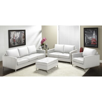 244 Series Top Grain Leather Living Room Collection