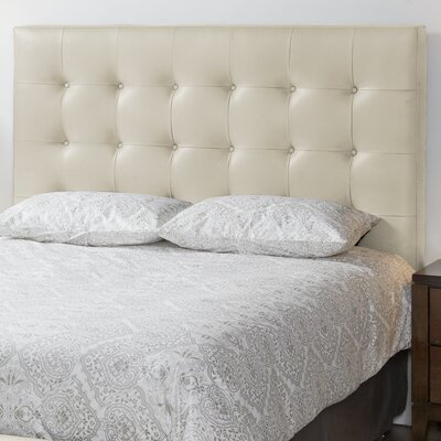 Studio Top Grain Upholstered Panel Headboard Size: King, Upholstery: Linen