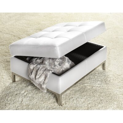 244 Series Ottoman Polar White