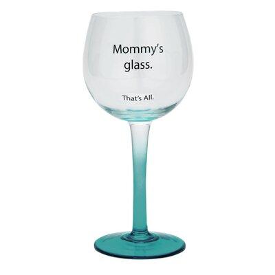 Mommy's Glass Wine Glass WIN28-2610G