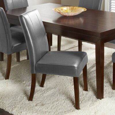 Marx Side Chair Upholstery Color: Dark Grey