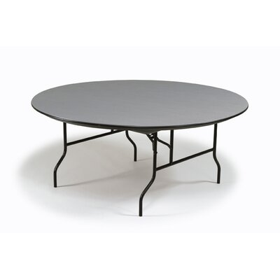 Hexalite Circular Conference Table Size: 29 H x 60 W x 60 D, Top Finish: Beige, Base Finish: Brown