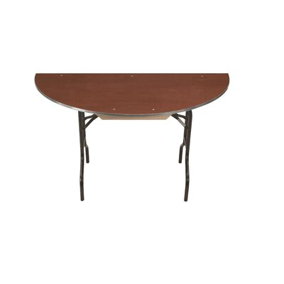 Half Round Conference Table Top Finish: Walnut, Size: 30 H x 30 W