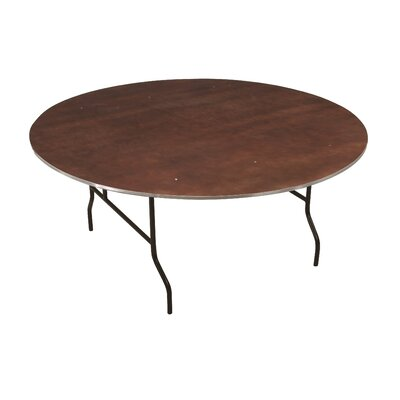 2 6 Circular Conference Table Finish: Walnut