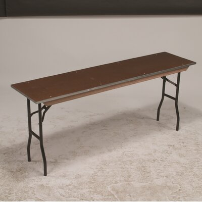 Rectangular Conference Table Base Finish: Black, Size: 30 H x 18 W x 72 D