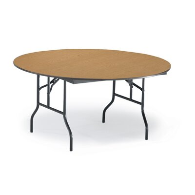 Circular Conference Table Top Finish: Walnut, Size: 29 H x 48 W x 48 D