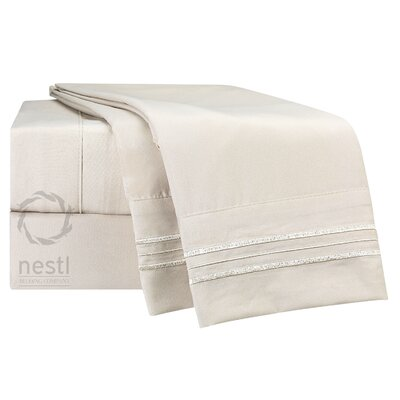 Microfiber Sheet Set Color: Cream