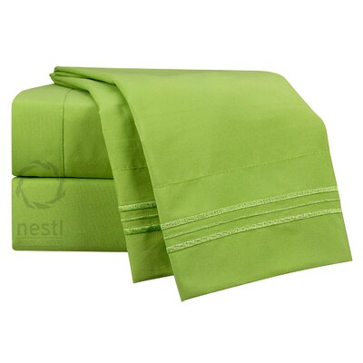Parakeet Microfiber Sheet Set Size: Queen