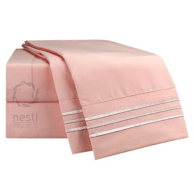 Chaffinch Microfiber Sheet Set Size: King