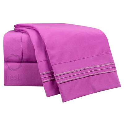 Starling Microfiber Sheet Set Size: Queen