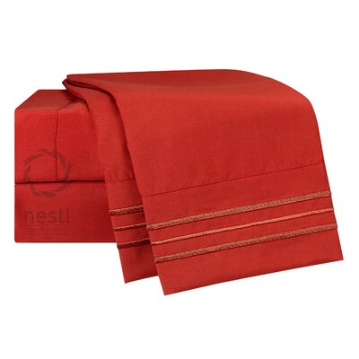 Robin Microfiber Sheet Set Size: California King