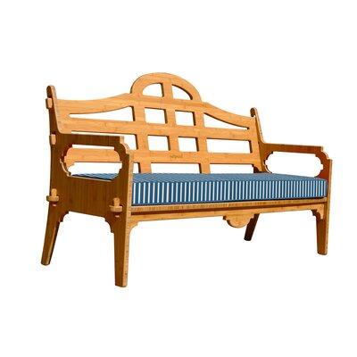 Burliegh Striped Sofa Fabric: Blue/White