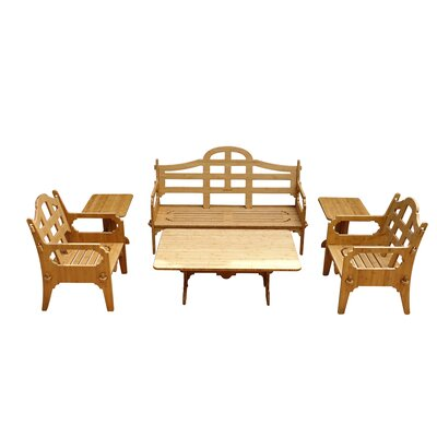 Palladian 6 Piece Lounge Seating Group