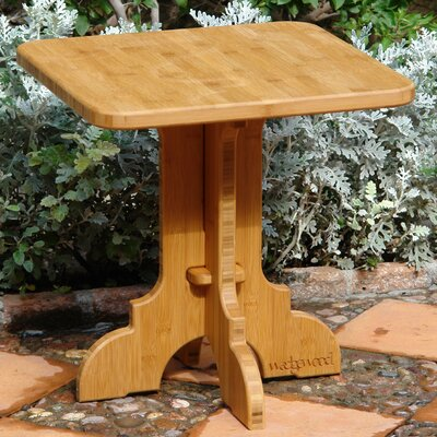Burliegh Side Table Table Size: 24 L x 18 W