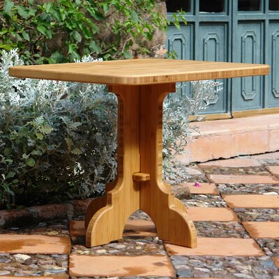 Burliegh Side Table Table Size: 48 L x 30 W