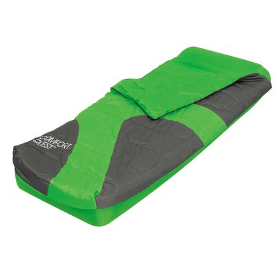 Aslepa 2 Piece 8.7 Air Mattress Set Color: Green