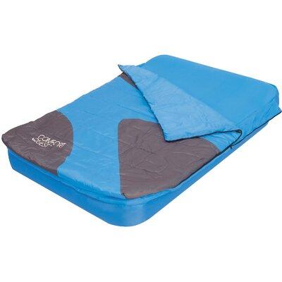 Aslepa 2 Piece 8.7 Air Mattress Set Color: Blue